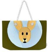 The Kangaroo Cute Portrait Weekender Tote Bag