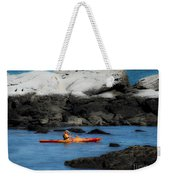 The Kayaker Weekender Tote Bag