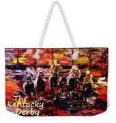 The Kentucky Derby - And They're Off Without Year  Weekender Tote Bag