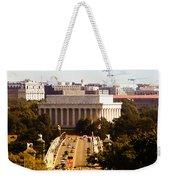The Key Bridge And Lincoln Memorial Weekender Tote Bag