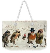The Kindly Robin Weekender Tote Bag