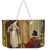 The King And The Beggar-maid Weekender Tote Bag