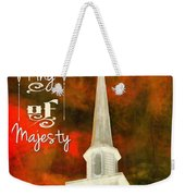 The King Of Majesty Weekender Tote Bag