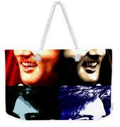 The King Of Rock And Roll Weekender Tote Bag