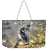 The King Of The Pond Weekender Tote Bag