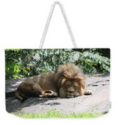 The King On His Day Off Weekender Tote Bag