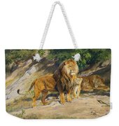 The King Watches Weekender Tote Bag