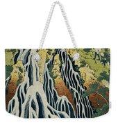 The Kirifuri Waterfall Weekender Tote Bag by Hokusai