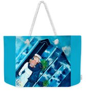 The Kiss At One Tower Weekender Tote Bag
