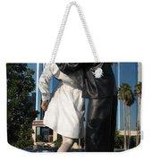 The Kiss - Sailor And Nurse - Sarasota  Weekender Tote Bag