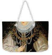 The Kitchener Portrait Of Queen Weekender Tote Bag