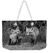 The Kits Monochrome Weekender Tote Bag