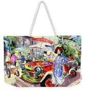 The Klimt Girl In A Ruin Bar In Budapest Weekender Tote Bag