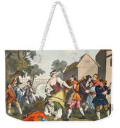 The Knight Submits To Trulla Weekender Tote Bag
