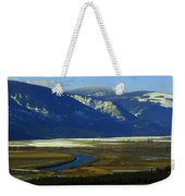 The Kootanie River In Bonners Ferry Idaho Weekender Tote Bag