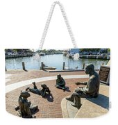 The Kunta Kinte-alex Haley Memorial In Annapolis Weekender Tote Bag