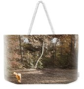 The Labradoodle On The Go Weekender Tote Bag