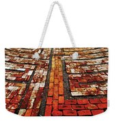 The Labyrinth Of St Luke's  Weekender Tote Bag