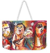 The Ladies Of Loket In The Czech Republic Weekender Tote Bag by Miki De Goodaboom