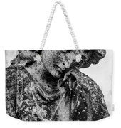 The Lady In Mourning 03 Bw Weekender Tote Bag