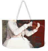 The Lady With The Violin Weekender Tote Bag