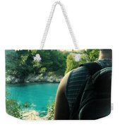 The Lagoon Weekender Tote Bag by Jasna Buncic