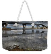 The Lake Champlain Bridge From Cown Point Weekender Tote Bag