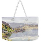The Lake Of Lucerne, Mount Pilatus Weekender Tote Bag