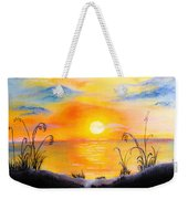 The Land Of The Dying Sun Weekender Tote Bag