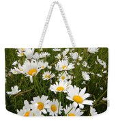 The Land Of White Daisies Weekender Tote Bag