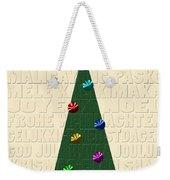 The Language Of Christmas Weekender Tote Bag