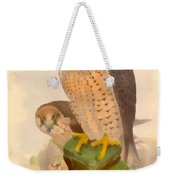 The Lanner Falcon Weekender Tote Bag