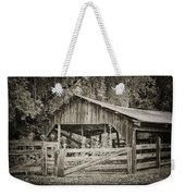 The Last Barn Weekender Tote Bag