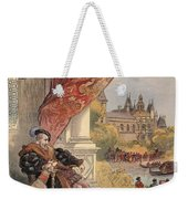 The Last Days Of Francis I Weekender Tote Bag