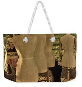 The Last Fashion Show- Old Mannequins Weekender Tote Bag