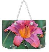 The Last Flower Weekender Tote Bag