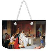 The Last Hour Of Pompeii Weekender Tote Bag