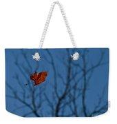 The Last Leaf Fell Weekender Tote Bag