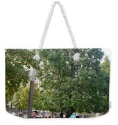 The Last Living Thing Pulled From The Rubble... The Survivor Tree Weekender Tote Bag