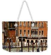 The Last Pigeon In Venice Weekender Tote Bag