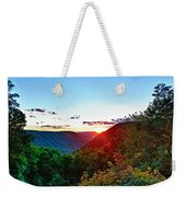 The Last Rays Weekender Tote Bag