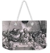 The Last Supper From The 'great Passion' Series Weekender Tote Bag by Albrecht Duerer