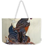 The Last Worm Weekender Tote Bag