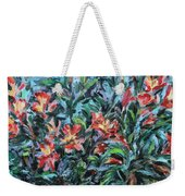 The Late Bloomers Weekender Tote Bag by Xueling Zou
