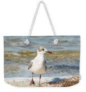 The Laughing Gull Strut Weekender Tote Bag