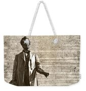 The Law Weekender Tote Bag