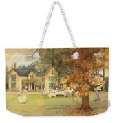 The Lawn Tennis Party Weekender Tote Bag by Arthur Melville