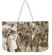 The Leader Of The Allies, Illustration Weekender Tote Bag