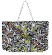 The Leaf Pile Weekender Tote Bag
