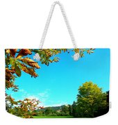 The Leaves Are Turning Golden... Weekender Tote Bag